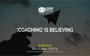 'COACHING' IS BELIEVING