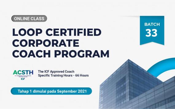 Loop Certified Corporate Coach Program - Online Class